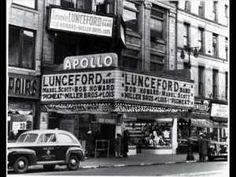 The Apollo Theater (on Chitlin Circuit) 253 West Street New York City, NY New York Pictures, School Pictures, School Pics, Blues In The Night, Apollo Theater, Theatre, Swing Era, Delta Blues, Duke Ellington