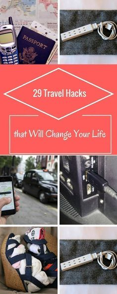 These 29 travel hacks, tips and tricks might change your life. #travel #traveling #travelphotography #traveller #travelblogger #backpack #backpacking #hiking #adventure #place #visiting #outdoor #beach #beachlife #resort #cruise #hotel #world #worldwide #worldtravel #beautifulplaces #travelpics #Picoftheday #destination #backpackinglifehacks #backpackingtricks #hikinglifehacks #hikingtricks #outdoortravel #travelbackpacks #beachtraveltips #traveltricks