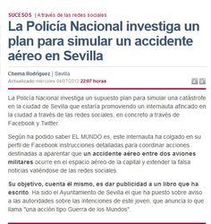 Noticia publicada por @elmundo es a raiz del intento de sabotaje del lanzamiento de @lamarcadeodin