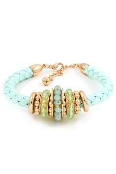 Concord Bracelet in Pale Mint