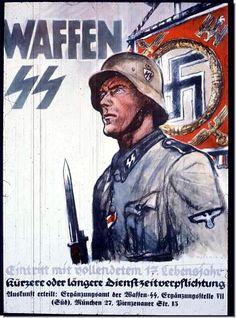 nazi posters | nazi-propaganda-posters-ww2-second-world-war-ss-recruitment-poster.jpg