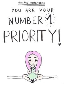 Remember to take care of yourself!!!
