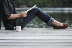 Inspiração do Dia: Café e um bom livro ♥