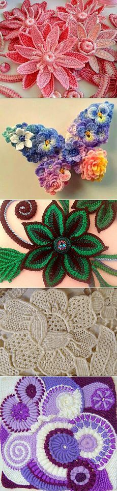 It's all in Russian, but I love the way the different colored flowers were arranged to make a butterfly...