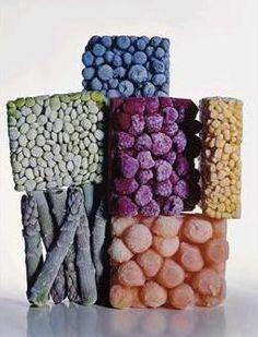 Frozen food by Irvine Penn