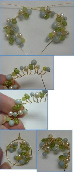 Spring Garland Wire Wrapped Earrings Tutorial   Scribd