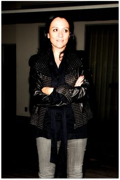 Kelly Cutrone. Worked for her as an intern at People's Revolution 2003