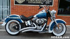 Heritage Softail Classic 4/200 Limited Number Custom Paint      Find it at http://hdsxm.com/bikes/heritage-softail-classic-custom-paint/