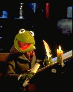 "THE GHOST OF CHRISTMAS PRESENT ""The Muppet Christmas Carol ..."
