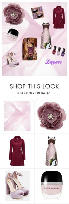 """""""Pink and Purple Layers"""" by loadsagifts ❤ liked on Polyvore featuring Joe Browns, Mary Katrantzou, JustFab, Marc Jacobs, Deborah Lippmann, look and layers"""