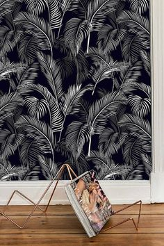 Wall Paper Palm Leaf, Wallpaper Wall Mural Removable, Wallpaper Tropical Botanical Wallpaper Peel & Stick Self Adhesive Wallpaper Jungle - New Ideas Wallpaper Wall, Palm Leaf Wallpaper, Tropical Wallpaper, Botanical Wallpaper, Self Adhesive Wallpaper, Salon Wallpaper, Wallpaper Jungle, Tropical Wall Decals, Floral Wall