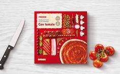 Eroski's pizza base (pâte à pizza)   Design : Supperstudio, Madrid, Espagne (décembre 2014)
