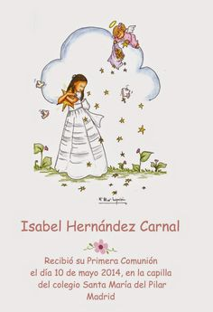El Pincel de los Sueños First Communion Invitations, Kirigami, Cover Pages, Background Images, Religion, Illustration, Prints, Party, Blog