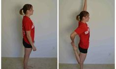 Muscle Stretches, Back Pain Exercises, Stretching Exercises, Core Exercises, Back Leg Muscles, Sore Muscles, Quad Stretch, Stretch Routine, Muscle Pain Relief