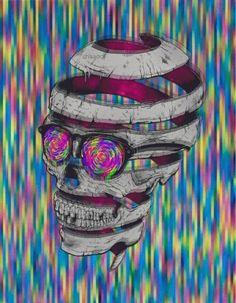Mix skull