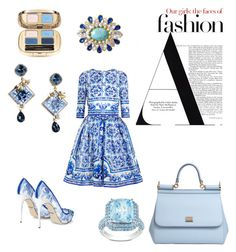 D&G Fashion by steffyyeah on Polyvore featuring polyvore, fashion, style, Dolce&Gabbana and Ice
