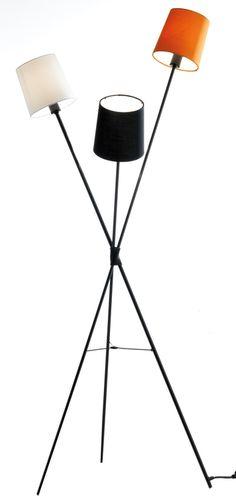 Frandsen Dexter Floor Lamp With 3 Shades from Heal's