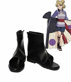 NARUTO Anime Temari Cosplay Shoes Boots Custom Made >>> For more information, visit image link.(This is an Amazon affiliate link and I receive a commission for the sales)