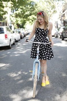 Adorable Traveling Cupcake Truck Dress from ModCloth.