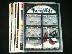 Vintage Farm Wife News Magazines Lot 9 1979 1981 1982 Back Issues Arts Crafts