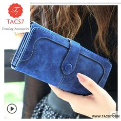 Cheap carteira fashion, Buy Quality leather wallet directly from China leather wallet women Suppliers: 2018 Fashion Retro Matte Stitching leather Wallet Women Long Purse Clutch Women Casual Hasp Dollar Price Wallet Handbag carteira Small Wallet, Long Wallet, Pocket Wallet, Purse Holder, Card Holder, Ladies Purse, Wallets For Women Leather, Pocket Cards, Stitching Leather