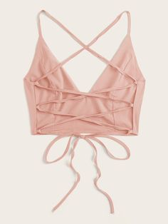 Cropped Cami, Cami Crop Top, Cami Tops, Sewing Clothes, Diy Clothes, Clothes For Women, Crop Top Outfits, Cute Casual Outfits, Backless Top