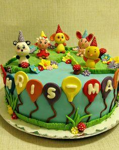 Gâteau titounis. Torta titounis. Titounis cake.