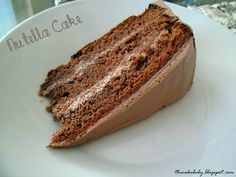 Nutella Cake - the ultimate Nutella lovers cake