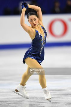 Wakaba Higuchi of Japan competes in the ladies free skating during day three of the 86th All Japan Figure Skating Championships at the Musashino Forest Sports Plaza on December 23, 2017 in Chofu, Tokyo, Japan.