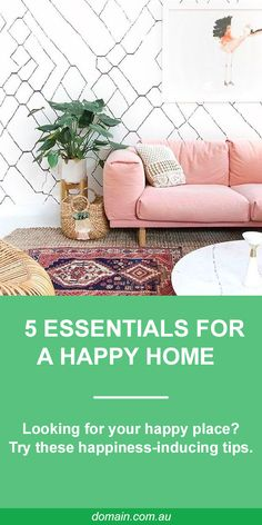 Looking for your happy place? It turns out, you don't have to venture further than your own back door to find it. Those favourite nooks at home are not only aesthetically perfect to you, but happiness-inducing too. The experts tell us why. Living Room Inspiration, Home Decor Inspiration, Morrocan Decor, Moroccan Interiors, Living Styles, Interior Design Tips, My Room, Are You Happy, Nooks