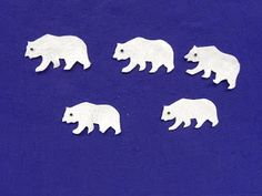 Five Little Polar Bears