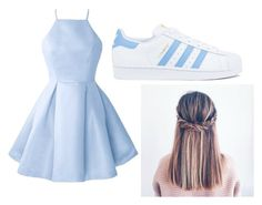 """""""Modern Princesss"""" by lrobison-1 ❤ liked on Polyvore featuring adidas and modern"""