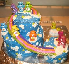 Care bear cake!