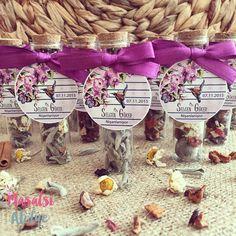 Düğün hediyesi / Wedding gift #kışçayı #wintertea www.masalsiatolye.com