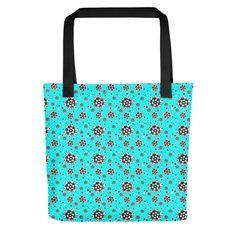 Laukku Flower B&W – JohannaDesign Sissi, Reusable Tote Bags, Deco, Flower, Decor, Deko, Decorating, Decoration, Flowers