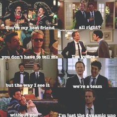 Ted & Barney. How I Met Your Mother #himym