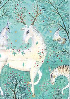 Roger la Borde | Christmas Card by Jane Ray