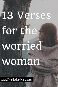 13 verses for the worried woman. These verses will help calm anxiety and depression. So much good stuff here! Worry Bible Verses, Scripture Verses, Bible Studies For Beginners, Bible Study Tips, Christian Marriage, Christian Life, Christian Parenting, Prayer Ministry, Women's Ministry