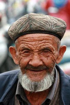 China | Uyghur man in Xinjiang.