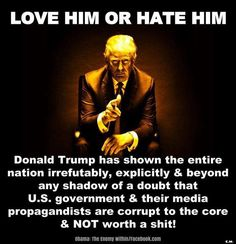 If you hate trump. Might as well hate hillary as well. Vote Trump, Pro Trump, Trump Meme, Trump Wins, Gucci Logo, Trump Train, Our President, Political Views, Political Memes