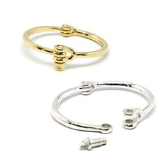 somehow i really want one of these, the less is more do over of the pricey and more demure cartier love bracelet
