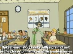 disney cartoon tv show feminism recess cartoon gif patriarchy misogyny founding fathers White supremacy tv show gif recess tv show recess gif miss grotke miss grotke gif feminism in disney feminist disney characters Fight The Power, Important Life Lessons, Speak The Truth, Patriarchy, History Books, Social Issues, In This World, Equality, At Least