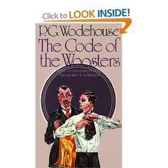 classic brit lit.. comedic writer p.g wodehouse is worth every penny. no one turns a better phrase out of thin air than this man.
