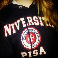 Felpa Università di Pisa