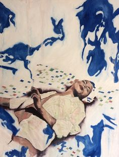 Peinture : Marie Anglade
