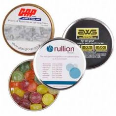 Travel Sweet Tins Personalised Sweets, Personalized Labels, Metal Tins, Hard Candy, Food Gifts, Sweet Tooth, Fruit, Travel