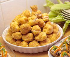 Gluteenittomat tuulihatut Pretzel Bites, Bread Baking, Cake Cookies, Potato Salad, Gluten Free, Ethnic Recipes, Food, Baking, Glutenfree