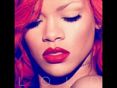 Rihanna - Loud = Best Tracks: S - California King Bed - Only Girl (In the World) *. Nicki Minaj) - Man Down - What's My Name? Drake) - Fading - Skin - Love The Way You Lie, Pt. Rihanna Album Cover, Rihanna Albums, Nicki Minaj Album Cover, Adele Albums, Rihanna Love, Trucks, Stickers