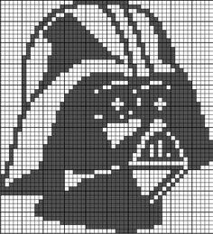 Darth Vader - Star Wars Perler Bead Pattern