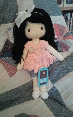 My crochet doll; Amigurumi doll ☆ (Inspiration).☆